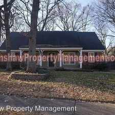 Rental info for 1425 Tree Haven CV in the Memphis area
