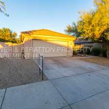 Rental info for 17484 W COYOTE TRAIL DR - 3BR 2BA Estrella Pkwy/101 - BEAUTIFUL SINGLE STORY GOODYEAR HOME WITH A PRIVATE POOL! CLOSE TO THE 101, SPLIT FLOOR PLAN, READY FOR IMMEDIATE MOVE IN! CALL TODAY!
