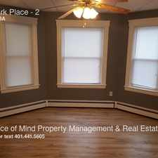 Rental info for 98 Park Place
