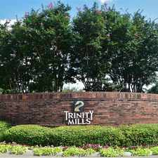 Rental info for Trinity Mills Apartments in the Dallas area