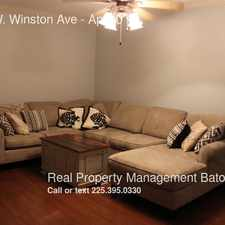 Rental info for 10306 W. Winston Ave in the Baton Rouge area