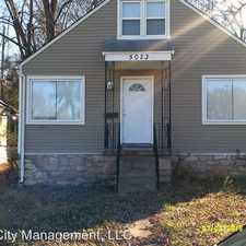Rental info for 5023 East Linwood Boulevard in the Kansas City area