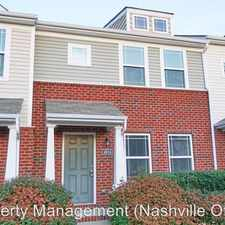 Rental info for 4014 Currant Court