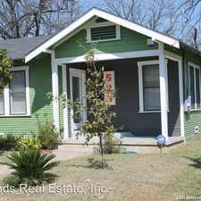 Rental info for 523 Devine St. in the San Antonio area