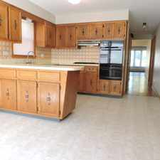 Rental info for Gorgeous Bright 3 Bed 1 1/2 Bath , Spacious Kitchen, Laundry, Blue Line Norwood Park/Union Ridge in the Norwood Park area
