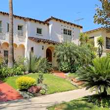 Rental info for 129 South Mansfield Avenue in the Los Angeles area