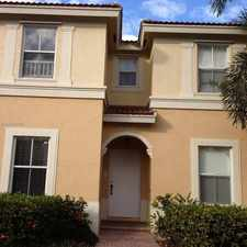 Rental info for 12807 SW 32nd St in the Pembroke Pines area