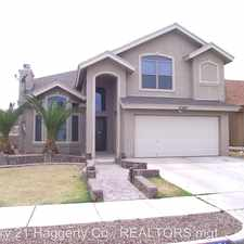 Rental info for 11281 Duster in the El Paso area