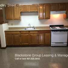 Rental info for 50 Hedley Street in the Central Falls area
