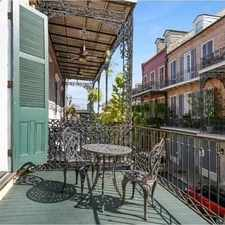 Rental info for One Bedroom In French Quarter in the New Orleans area