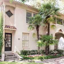 Rental info for $5500 2 bedroom Townhouse in Dallas County University Park in the Dallas area