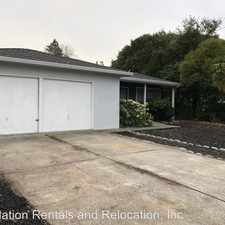 Rental info for 1665 Center Rd in the Novato area