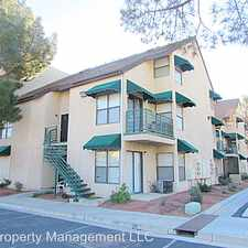 Rental info for 500 Elm Dr #105 in the Las Vegas area