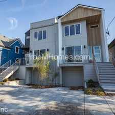 Rental info for 3418 N Commercial Avenue in the Portland area