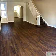Rental info for Section 8 ACCEPTED! 3 BEDROOM VOUCHERS ONLY PLEASE! This huge South Philly Beauty is perfect for anyone who wants more space and a great rehabbed home! Bonus 4th bedroom is a great addition in the Philadelphia area