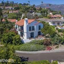 Rental info for 396 Las Alturas Road