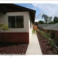 Rental info for 6933 Madrone Ave in the Skyline area