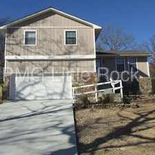 Rental info for 3 Idlewood Pl. Maumelle, AR in the Maumelle area
