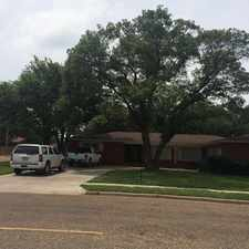 Rental info for 3301 38th Street in the Lubbock area