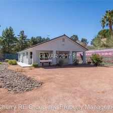 Rental info for 5835 Palm Street in the Henderson area