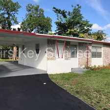 Rental info for 3541 NW 2 St Fort Lauderdale FL 33311 in the Fort Lauderdale area