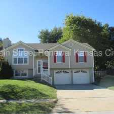 Rental info for Cute and Cozy with a Fireplace in Raymore MO in the Raymore area