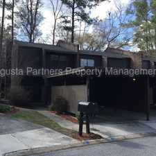 Rental info for West Lake Townhouses - Columbia County in the Augusta-Richmond County area