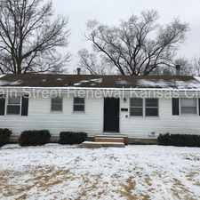 Rental info for This TOO cute home to miss in Kansas City MO in the Park Farms area