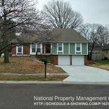Rental info for 10303 Rosehill Rd in the Lenexa area