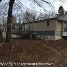 Rental info for 209 Davidson Drive in the Hot Springs area