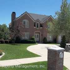 Rental info for 1879 WASATCH DR