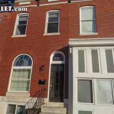 Rental info for $2200 3 bedroom Townhouse in Baltimore City Baltimore East in the Baltimore area