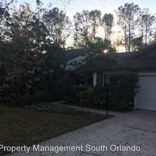 Rental info for 7213 Moss Leaf Ln. in the Florida Center area
