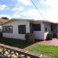 Rental info for 715 21st AVENUE - FRONT in the East Honolulu area