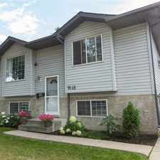 Rental info for 9145 83 Avenue in the Bonnie Doon area