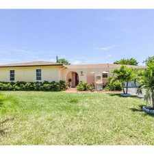 Rental info for 4516 Brady Boulevard in the Delray Beach area