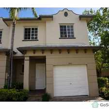 Rental info for FABULOUS 3 BEDROOM TOWNHOUSE WITH GARAGE... CALL DAN 561-714-3440 in the West Palm Beach area