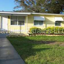 Rental info for 3 Bedroom/1 Bathroom with separate Storage/Laundry area. Nice Large Fenced Yard in the Tampa area