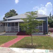Rental info for AMAZINGLY LARGE HOME IN PROGRESSO.....EAST OF ANDREWS AVENUE!!! GREAT NEIGHBORHOOD....VERY CHARMING HOME....4 BEDROOM / 3 BATHROOM....CENTRAL A/C....FENCED YARD..CALL TYLER (954) 647-9947 in the Fort Lauderdale area