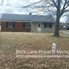 Rental info for 4426 N Audubon Road in the Indianapolis area