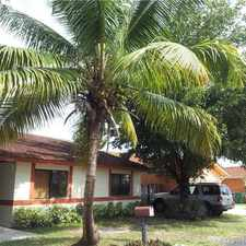 Rental info for 10255 Southwest 145th Place in the The Hammocks area