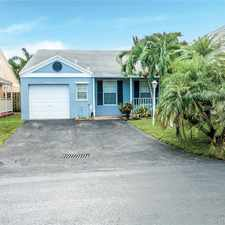 Rental info for 22240 Southwest 101 Avenue Road in the Cutler Bay area