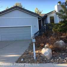 Rental info for 2601 Chapparal Drive in the Reno area