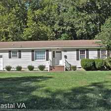 Rental info for 321 Tabbs Lane in the Newport News area