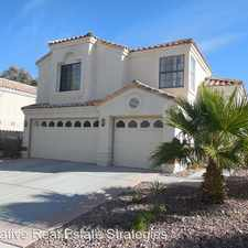 Rental info for 2200 Sapphire Valley St in the Las Vegas area