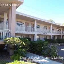 Rental info for 900 70th St N #102 in the St. Petersburg area