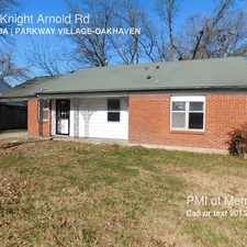 Rental info for 4058 Knight Arnold Rd in the Memphis area