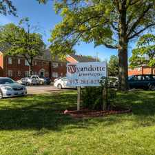 Rental info for Wyandotte Apartments