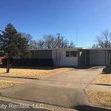 Rental info for 2709 64th Street in the Caprock area