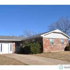 Rental info for HOUSE FOR RENT NW OKC in the Oklahoma City area